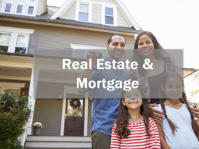 real estate and mortgage image